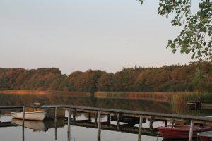 Aalangeln @ Fischerhütte Idstedter See   Schleswig   Schleswig-Holstein   Deutschland